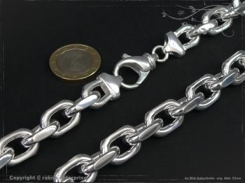 Ankerkette B12.0L45 massiv 925 Sterling Silber