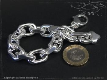 Ankerkette Armband B12.0L20 massiv 925 Sterling Silber