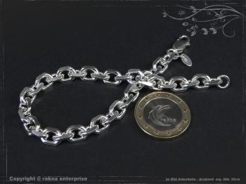 Ankerkette Armband B6.5L17 massiv 925 Sterling Silber