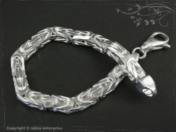 Königskette Armband B7.0L23 massiv 925 Sterling Silber
