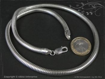 Schlangenkette D6.0L70 massiv 925 Sterling Silber