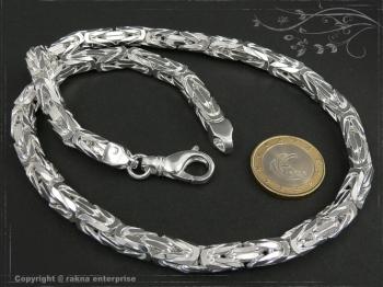 Königskette B7.0L75 massiv 925 Sterling Silber