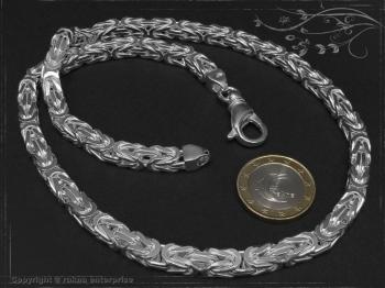 Königskette B6.0L85 massiv 925 Sterling Silber