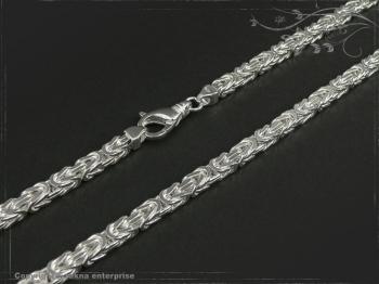 Königskette B5.0L45 massiv 925 Sterling Silber