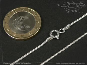 Schlangenkette Armband D1.2L19 massiv 925 Sterling Silber
