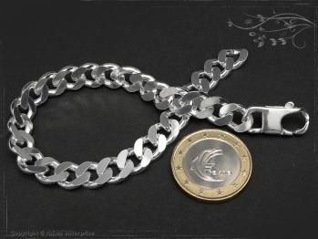 Panzerarmband B8.0L22 massiv 925 Sterling Silber