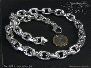 Ankerkette B12.0L100 massiv 925 Sterling Silber