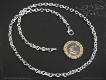 Ankerkette B4.5L100 massiv 925 Sterling Silber