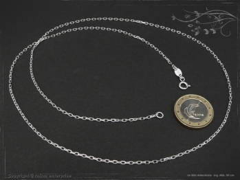 Ankerkette B1.7L55 massiv 925 Sterling Silber