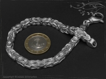 Königskette Armband B6.0L21 massiv 925 Sterling Silber
