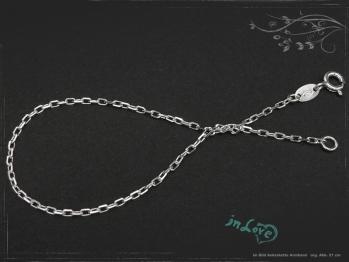 Ankerkette Armband B1.7L22 massiv 925 Sterling Silber