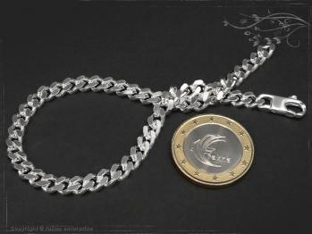 Panzerarmband B5.0L23 massiv 925 Sterling Silber