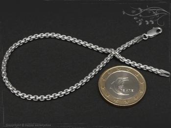 Silberkette Armband Venezia Ru B2.7L19 massiv 925 Sterling Silber