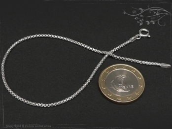 Silberkette Armband Venezia Ru B1.5L19 massiv 925 Sterling Silber