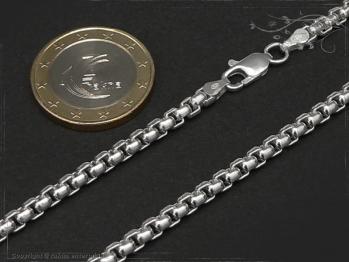Silberkette Venezia Ru B3.7L45 massiv 925 Sterling Silber
