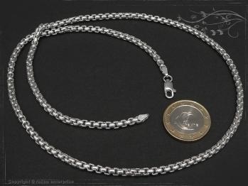 Silberkette Venezia Ru B3.7L75 massiv 925 Sterling Silber