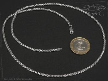 Silberkette Venezia Ru B2.7L80 massiv 925 Sterling Silber