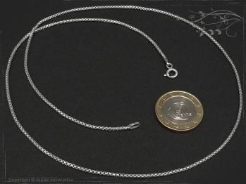Silberkette Venezia Ru B1.5L80 massiv 925 Sterling Silber