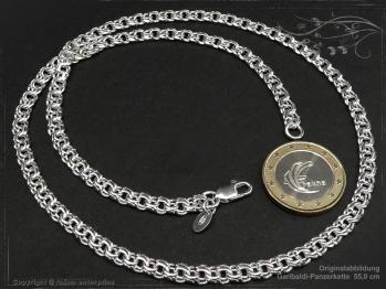 Garibaldikette  B5.0L85 massiv 925 Sterling Silber