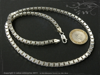 Silberkette Venezia B4.5L55 massiv 925 Sterling Silber
