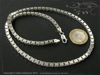 Silberkette Venezia B4.5L80 massiv 925 Sterling Silber