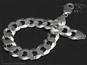 Panzerarmband B12.0L22 massiv 925 Sterling Silber