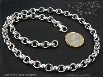 Silberkette Erbsenkette B8.2L90 massiv 925 Sterling Silber