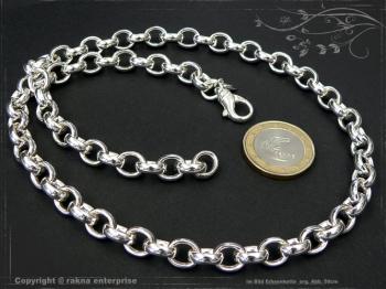 Silberkette Erbsenkette B8.2L95 massiv 925 Sterling Silber