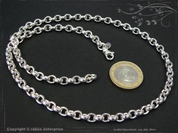 Silberkette Erbskette B5.5L85 massiv 925 Sterling Silber