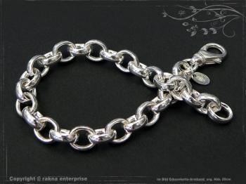 Silberkette Erbsenkette Armband B8.2L24 massiv 925 Sterling Silber